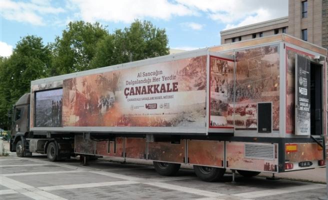 Çanakkale Savaşları Mobil Müzesi Eskişehir'de