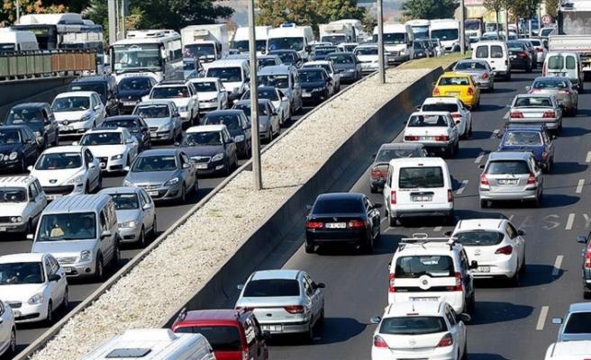 Eskişehir'de trafiğe kayıtlı araç sayısı arttı, devir sayısı azaldı