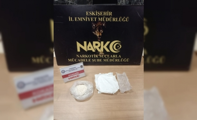 Eskişehir'e kokain getirirken yakalandı