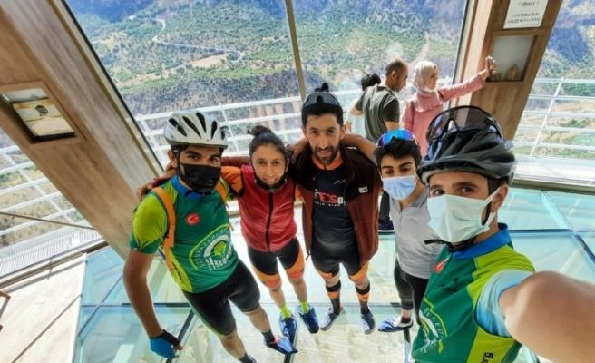 Levent Vadisi Dağ Bisikleti Kupası'nda Eskişehir'den derece