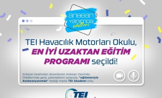 TEI Havacılık Motorları Okulu, En İyi Uzaktan Eğitim Programı seçildi