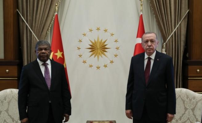 Cumhurbaşkanı Erdoğan'dan Angola açıklaması: 'Hedefimiz 500 milyon dolara ulaşmak'