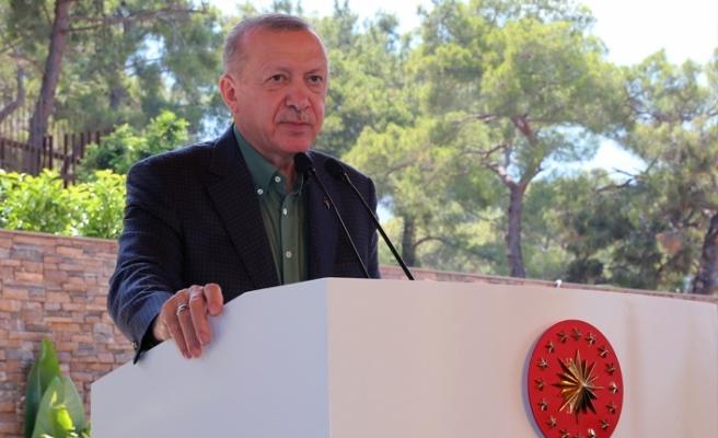 Cumhurbaşkanı Erdoğan: Meclis'te bir 'Su Kanunu' hazırlıyoruz