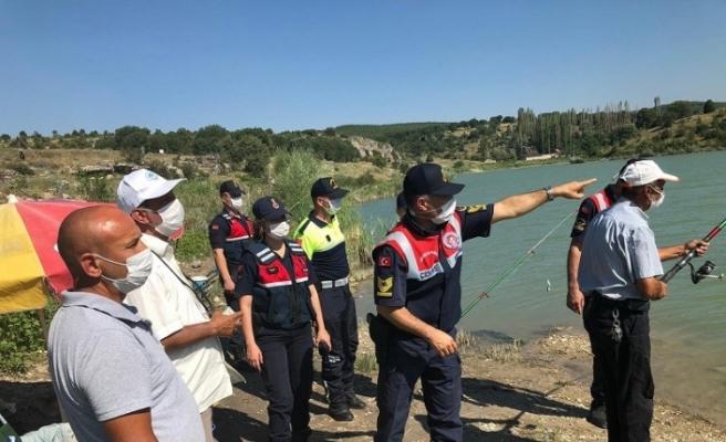 Jandarma ekipleri boğuma olaylarına karşı vatandaşları uyardı