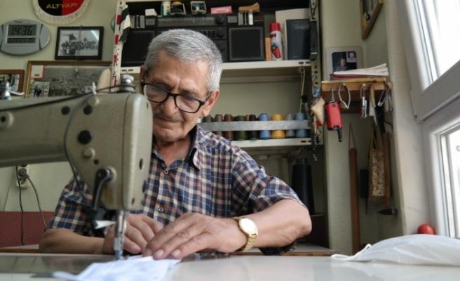 Dikiş makinesi başında geçen 60 yıl