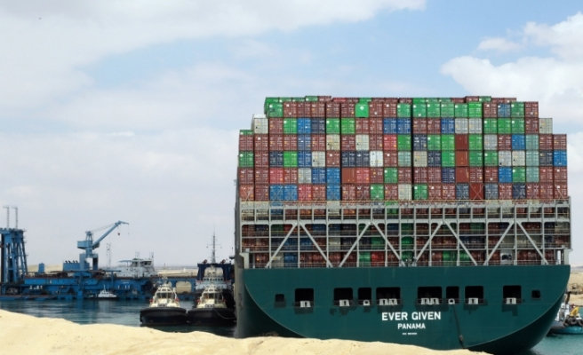 Süveyş Kanalı'nı tıkayan The Ever Given, 7 Temmuz'da serbest bırakılacak