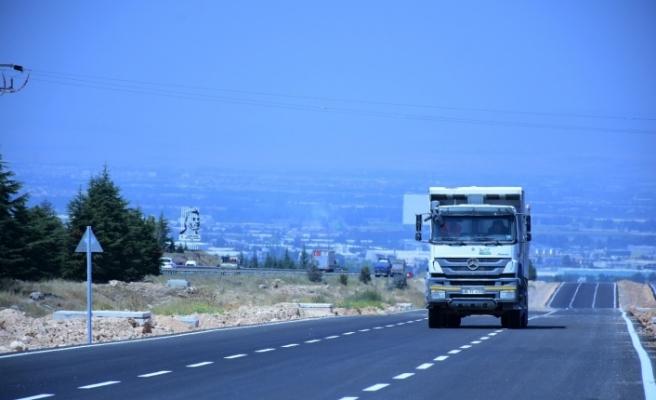 5 buçuk kilometre uzunluğundaki OSB bağlantı yolu açıldı
