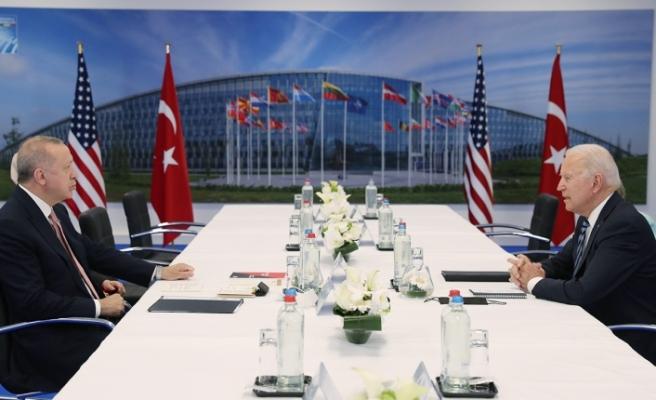 ABD'den Cumhurbaşkanı Erdoğan ile Biden arasında anlaşma iddiasına ilişkin açıklama!