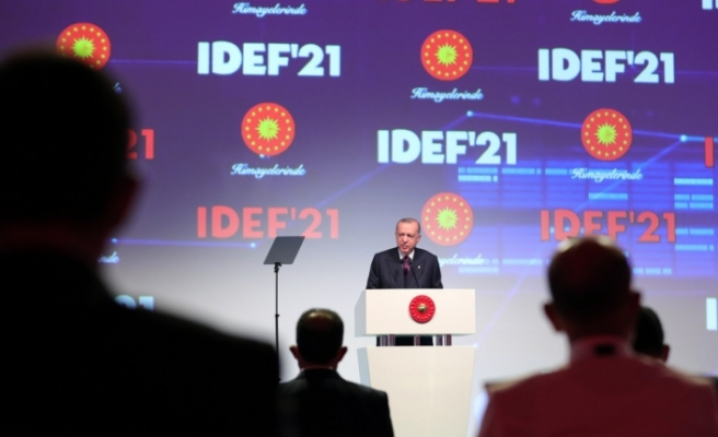 Cumhurbaşkanı Erdoğan: 'Türkiye savunma sanayiinde devrim gerçekleştirmiştir'