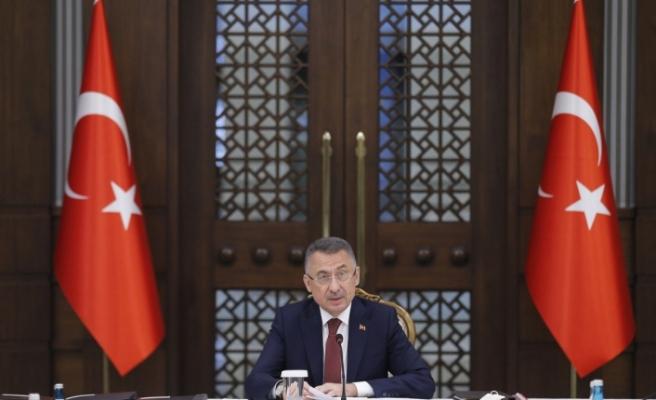 Cumhurbaşkanı Yardımcısı Oktay: 'Hedefimiz yıl sonunda 210 milyar dolar civarında bir ihracata ulaşmak'