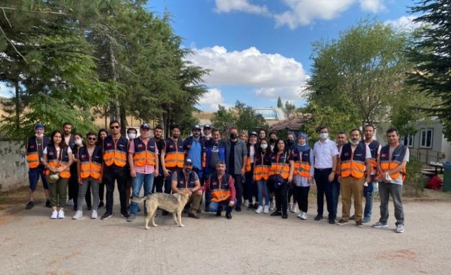 Eskişehir AFAD gönüllüleri Sinop'a gitti