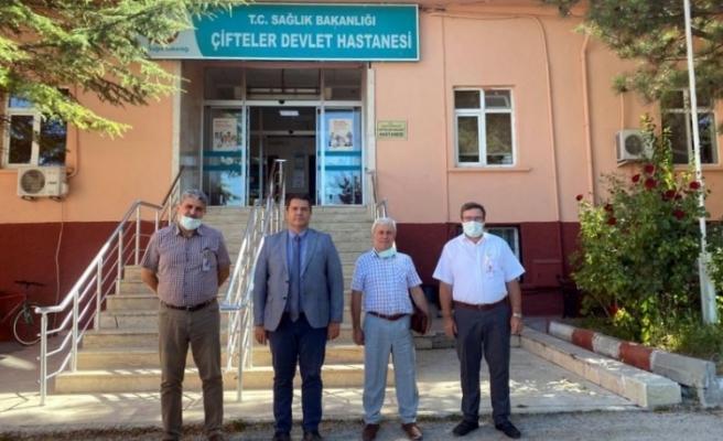 Eskişehir İl Sağlık Müdürü Prof. Dr. Uğur Bilge ilçeleri gezdi