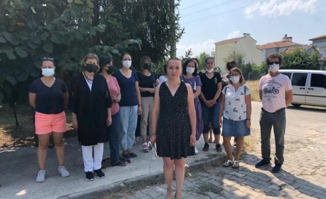Hayvanseverler eylemde Yılmaz Büyükerşen'e seslendi