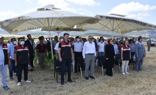 İnönü'de geleneksel Tarla Günü yapıldı
