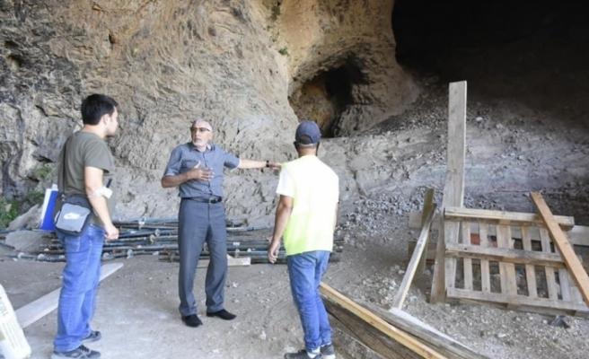 İnönü'de İnler Mağaraları restore ediliyor