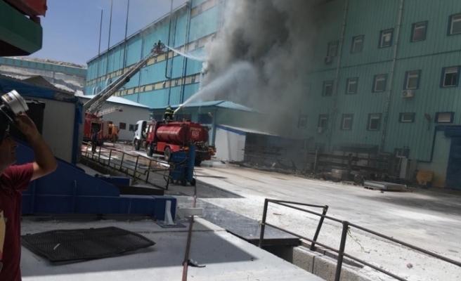Kırka Bor İşletme Müdürlüğü'nde yangın çıktı