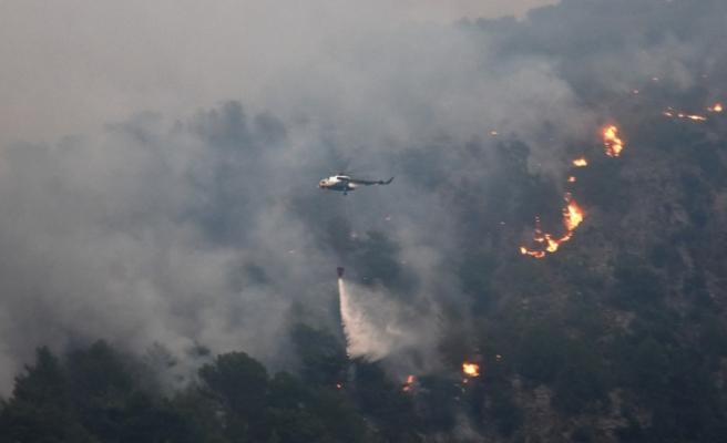 Köyceğiz'deki yangın devam ediyor, bir bölge daha boşaltıldı