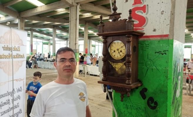Osmanlıdan kalma 140 yıllık saat tıkır tıkır çalışıyor