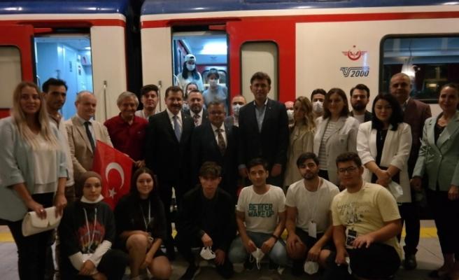 Zafer Treni Eskişehir'de