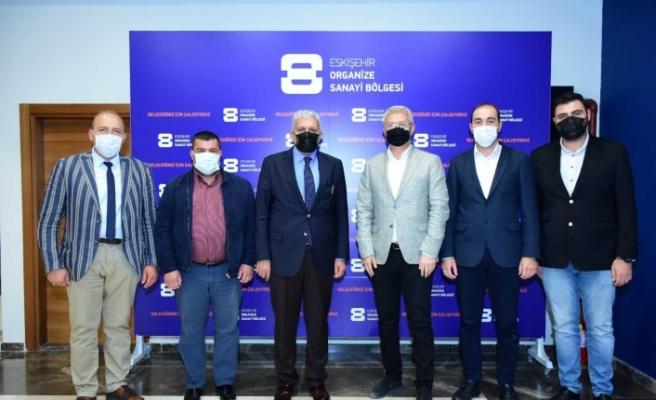 AK Parti'den EOSB'ye ziyaret