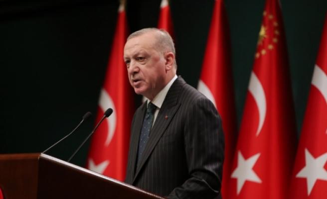 Cumhurbaşkanı Erdoğan: 'Bugüne kadar afet bölgesine 287 milyon ödenek aktarılmıştır'