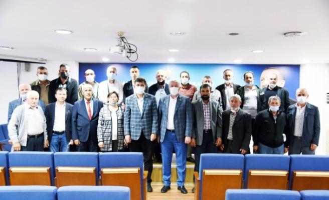 İdrisyaylalılar Derneği'nden Başkan Çalışkan'a ziyaret