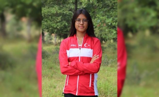 İnönü Belediyesi'nin Milli Takım sporcusu şampiyonadan şampiyonaya koşuyor