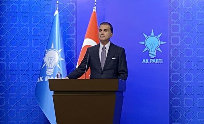 """AK Parti Sözcüsü Çelik: """"Mavi vatanda her türlü bedeli öderiz, her türlü mücadeleyi veririz"""""""