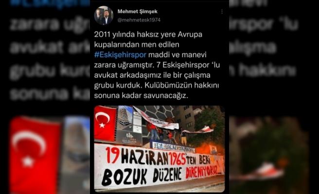 Eskişehirspor hakkını aramak için savaşacak
