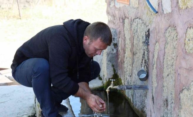 Meşhur Gecek suyu yarım asırdan fazladır tüm ilçeye hizmet ediyor