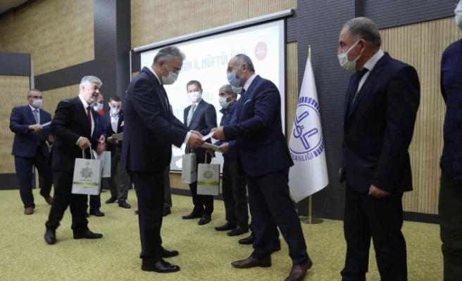 Vali Ayyıldız 'Camiler ve Din Görevlileri Haftası' ödül törenine katıldı