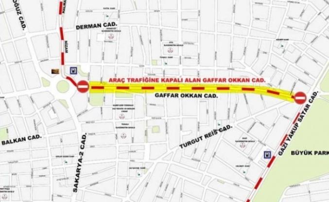Eskişehir'de O Cadde Trafiğe Kapatılacak