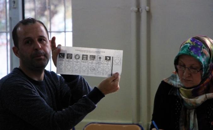 Eskişehir'de oy verme işlemi sona erdi
