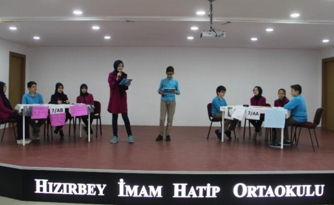 Türkiye'de ortaokullar düzeyinde ilk defa İngilizce münazara yapıldı
