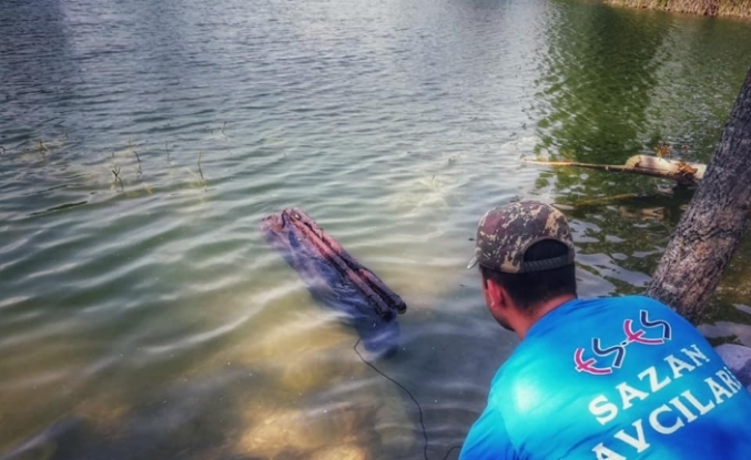 50 yıldır görülmeyen balık yeniden Porsuk'ta