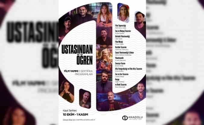 """Anadolu Üniversitesiyle """"Ustasından Öğren"""""""