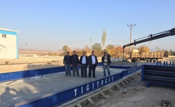 Beylikova'ya 80 tonluk kantar