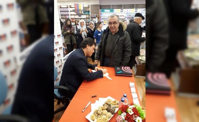 Eskişehirli yazar Arif Demirgöz'ün ikinci romanı 'Nadas' okuyucuları ile buluştu