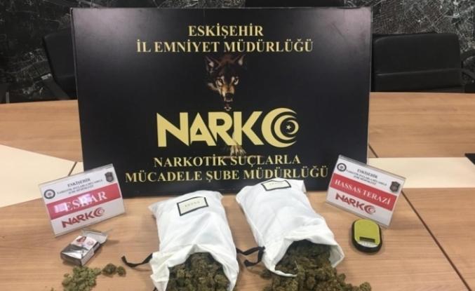 Yurt dışından satış için getirilen uyuşturucu gümrükte ele geçirildi