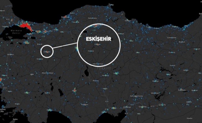 Koronavirüs haritaları belli oldu. İşte Eskişehir'deki son durum