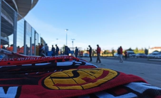 Eskişehirspor taraftarından maça yoğun ilgi