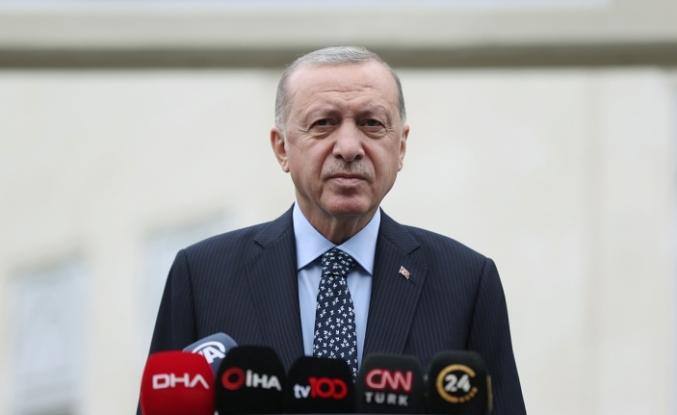 Cumhurbaşkanı Erdoğan: 'Terör örgütlerine karşı gerekli olan her türlü mücadeleyi vereceğiz'