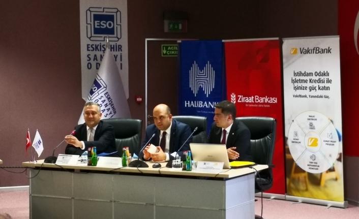 ESO'da sanayicilere 'İVME Finansman Paketi' tanıtıldı