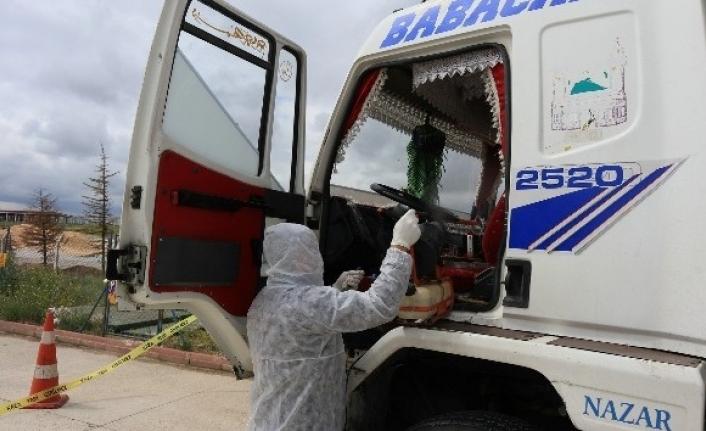 Sürücüde Kovit virüs bulguları tespit edilince ekipler alarma geçti