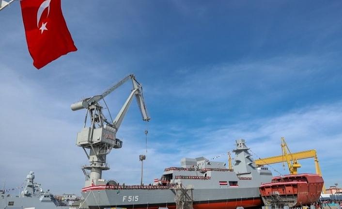 MİLGEM Projesi'nin İstanbul Fırkateyni denize indi